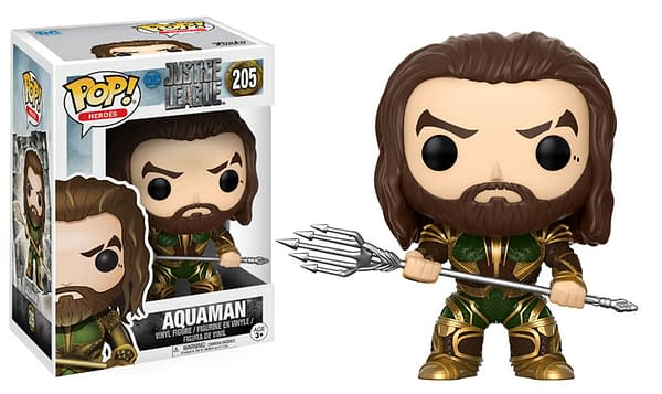 Justice League Funko Pops Arriving 3 Months Before the Film In August