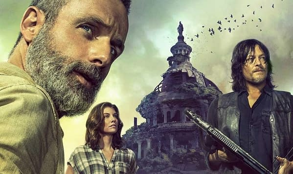 The Government's in Bad Shape in Leaked 'Walking Dead' Season 9 Promo Image