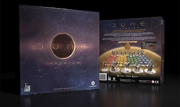 A look at the Deluxe Edition of Dune Imperium, courtesy of Dire Wolf Digital.