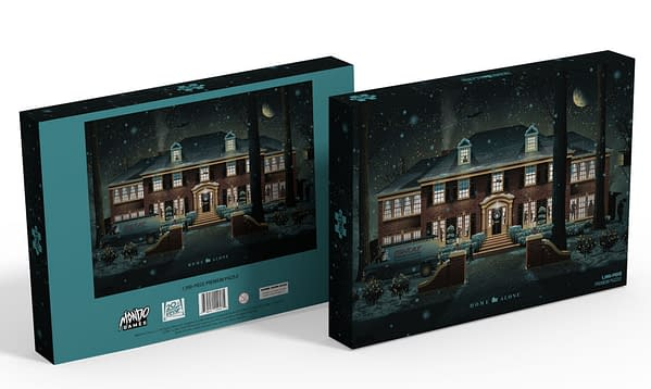 A Home Alone themed puzzle by Mondo.