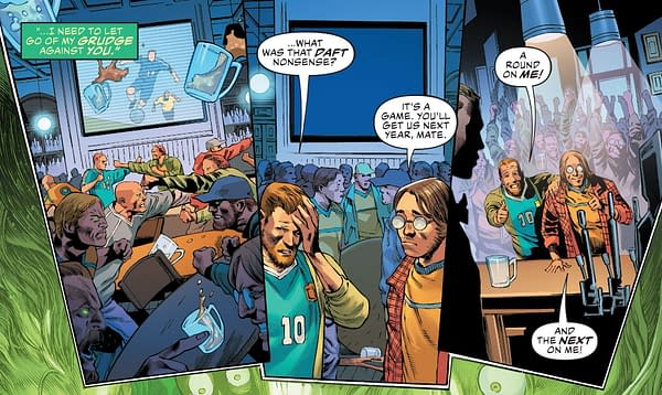 Today's Justice League Invents Brand New Liverpool Football Teams.