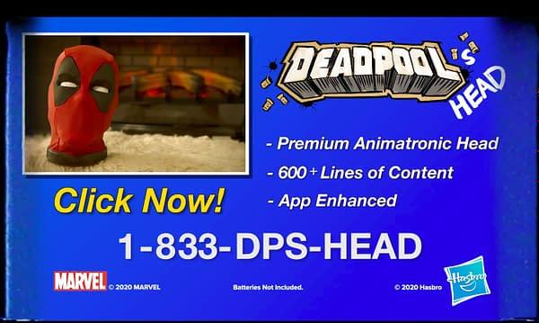 Hasbro Pulse Announces Life Size Talking Deadpool's Head