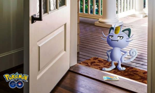 Meowth Research Day promotional graphic. Credit: Niantic