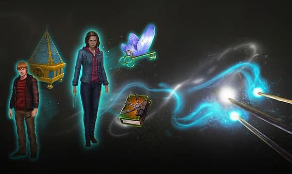 Arte promocional del Día de la Comunidad de noviembre de 2020 de Harry Potter: Wizards Unite.  Crédito: Niantic