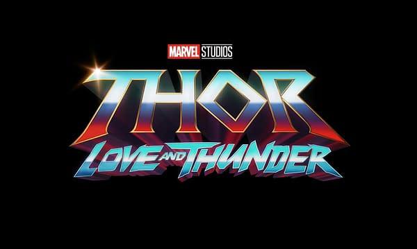 Thor: Love and Thunder Logo. Credit: Marvel/Disney