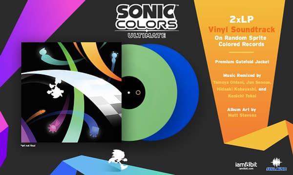 SEGA and iam8bit Release Sonic Colors: Ultimate vinyl soundtrack