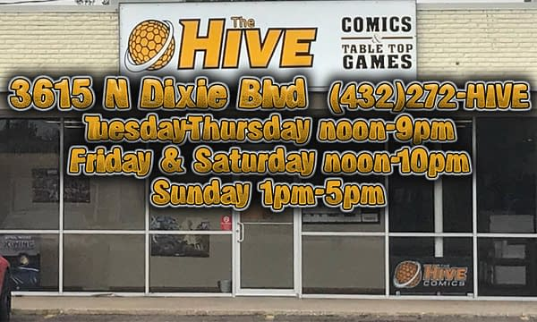 Hive Comics Opened in Odessa, Texas Last Year, Now Starting a Graphic Novel Book Club
