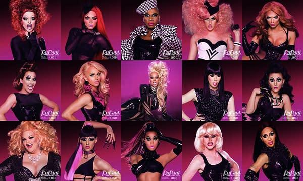 Meet the cast of RuPaul's Drag Race season 6, courtesy of Logo TV.