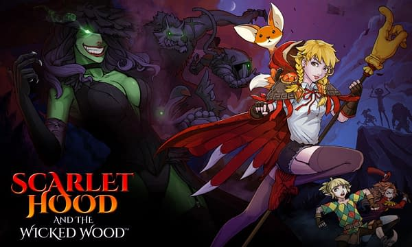 A look at the promo art for Scarlet Hood & The Wicked Wood, courtesy of Headup Games.
