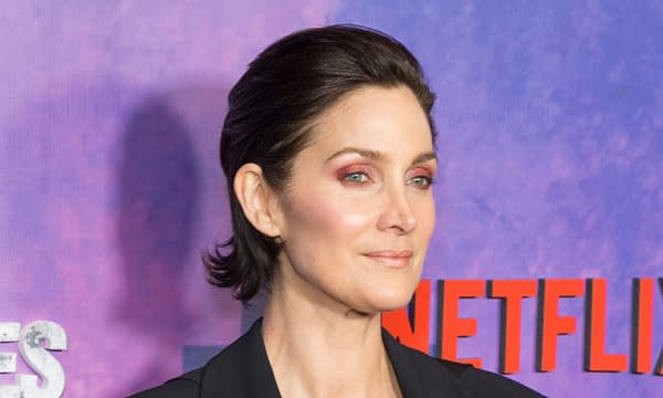 Carrie-Anne Moss attends Marvel Jessica Jones Season 2 Premiere at AMC Loews Lincoln Square. Editorial credit: lev radin / Shutterstock.com