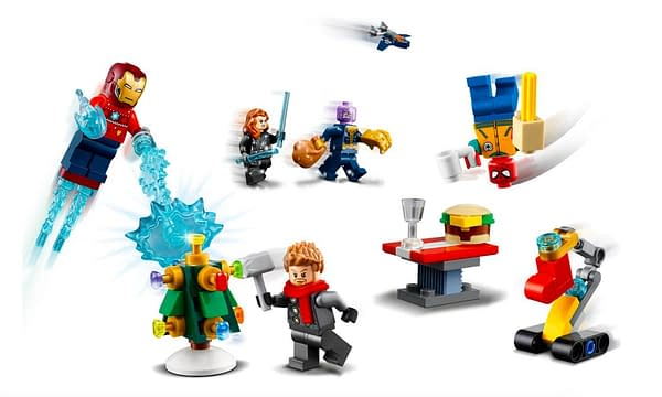 The Avengers Celebrate the Holidays With LEGO's Advent Calendar