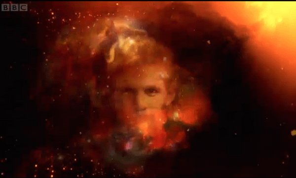 Matt Smith's Face Appears In Doctor Who Titles