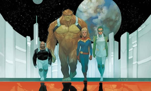 Captain Marvel #125 cover by Phil Noto