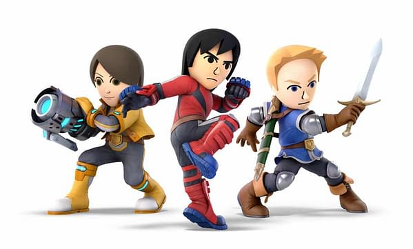 Mii Fighter DLC is Coming to Super Smash Bros. Ultimate