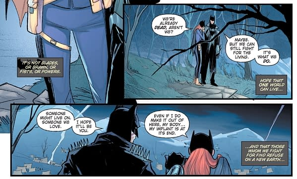 The Moment Dick & Babs Fans Were Waiting For (Death Metal Spoilers)