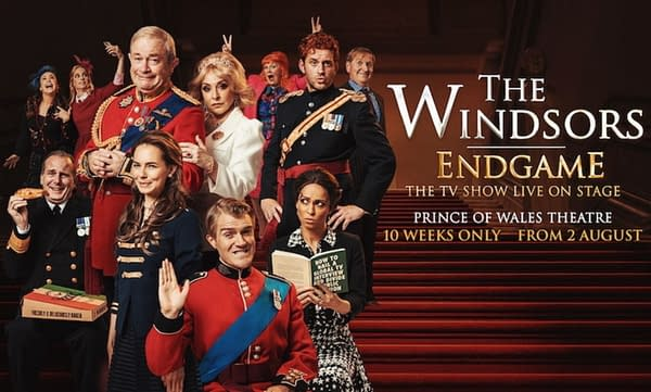 Stage Review: The Windsors: Endgame - Spamalot Meets Spitting Image