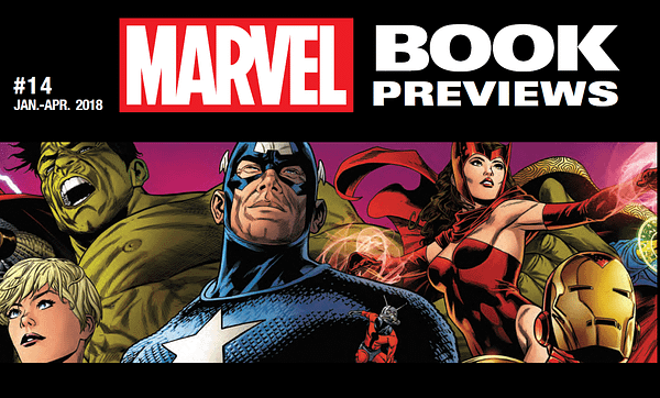What Else Can You Find In That Marvel Book Previews Catalogue For Early 2018?