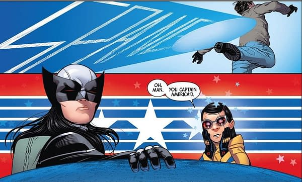 X-Men: Bland Design – Laura Captain Americas in All-New Wolverine #30