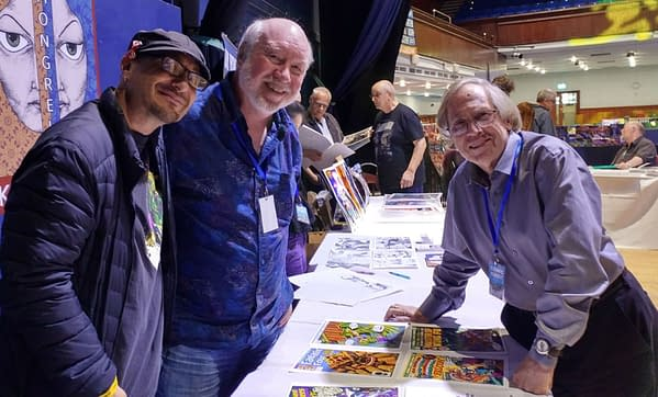 When Roy Thomas Went to England For Portsmouth Comic Con