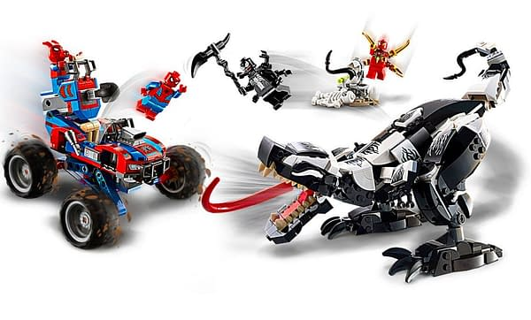 Spider-Man Venomsaurus LEGO Set Coming this Summer