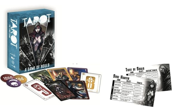 Tarot: A Game of Souls. Credit: Zenescope
