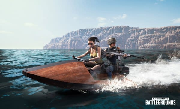 PlayerUnknown's Battlegrounds Adds Jet Ski to Xbox One