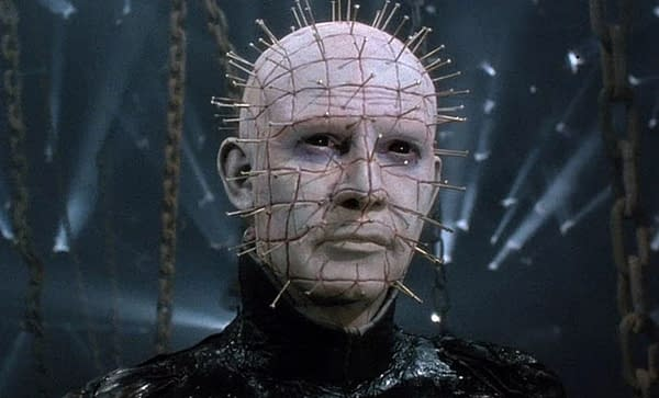 Pinhead is coming to HBO in a Hellraiser series, courtesy of Spyglass.