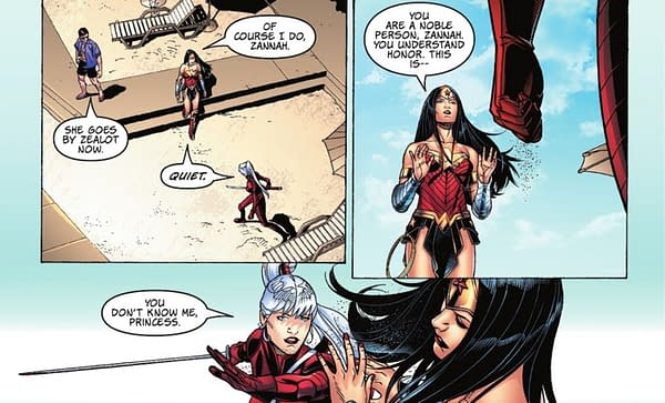 Zealot Cosplays As Wonder Woman – And Starro? Urban Legends Spoilers