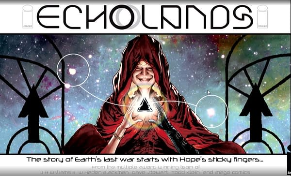 J.H. Williams and Haden Blackman Reteam for Echo Lands #ImageExpo