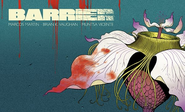 Barrier #4 cover by Marcos Martin and Muntsa Vicente