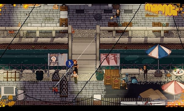 Italo Games' Homage to Italian Crime Films Milanoir is Launching This Month