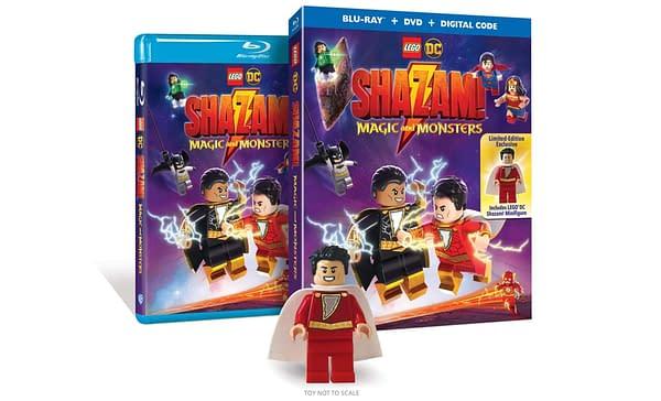 LEGO DC Shazam Hits Blur-ray on June 16th.
