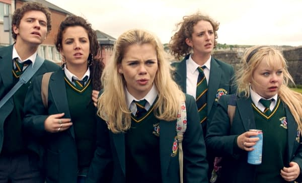 Derry Girls is now on Netflix (Image: Channel 4)