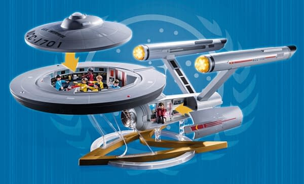 Star Trek Fans: You Have To See The New U.S.S. Enterprise Set