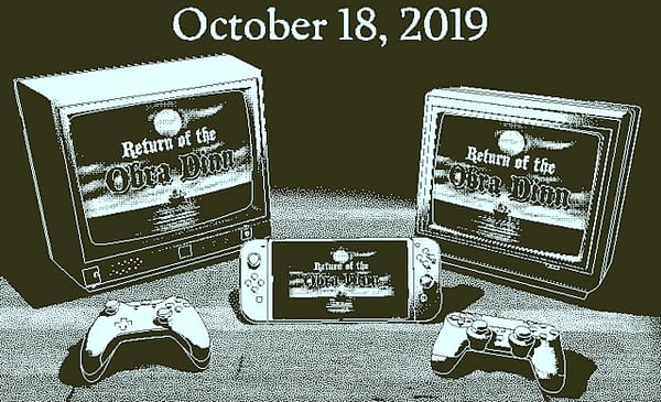 Return of the Obra Dinn Sets Sail for PS4, Xbox One, and Switch This Month