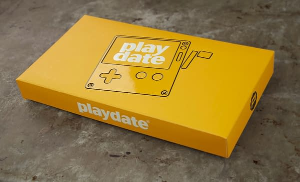 A look at the packaging for Playdate, courtesy of Panic Inc.
