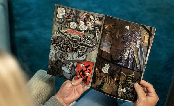 Oregon Brewery Ninkasi Give Away Free Comic From Dark Horse