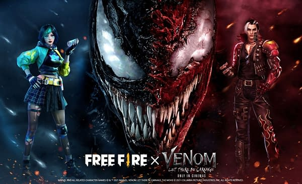 A sample of what's to come in the venom crossover event in the game, courtesy of Garena.
