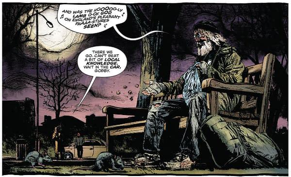 Prime Minister Boris Johnson Makes His (Naked) Debut in DC Comics' John Constantine: Hellblazer #1 Today