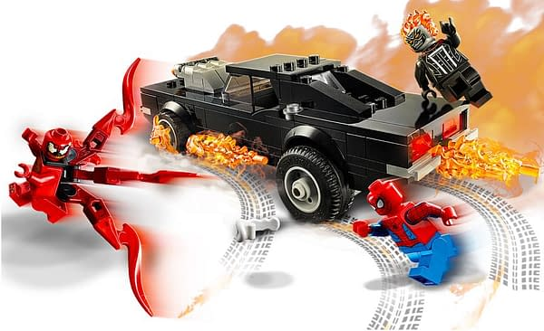 Spider-Man Teams Up with Ghost Rider and More In New LEGO Sets