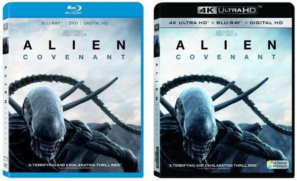 """""""Alien: Covenant"""" Blu Ray Has Pretty Great Special Features"""