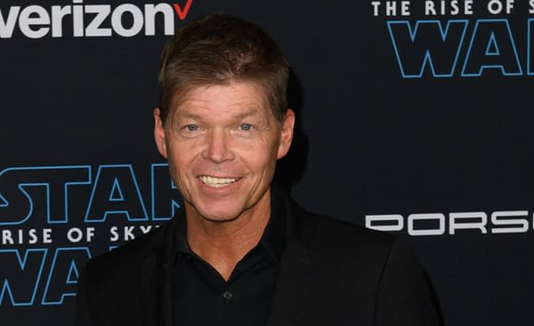 """Rob Liefeld attends the premiere of Disney's """"Star Wars: The Rise of Skywalker"""" on December 16, 2019 in Hollywood, California. Editorial credit: Silvia Elizabeth Pangaro / Shutterstock.com"""