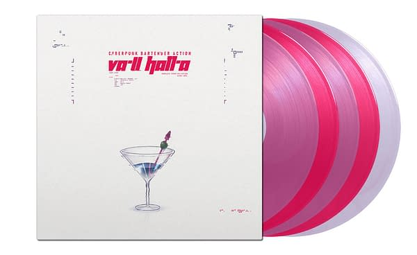 A look at the VA-11 HALL-A: Complete Sound Collection, courtesy of Black Screen Records.