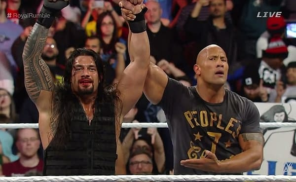 Roman Reigns Tells The Rock And John Cena To Not Quit Their Day Jobs