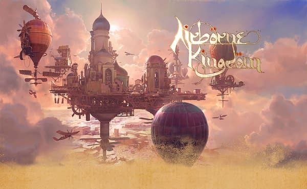 Command an empire in the sky with Airborne Kingdom, courtesy of The Wandering Band.
