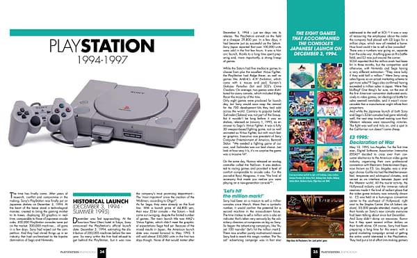 Geeks Line Publishing Release Their 'PlayStation Anthology' Book