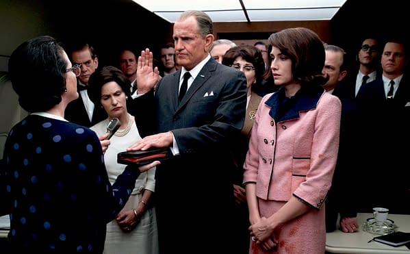 Woody Harrelson as LBJ