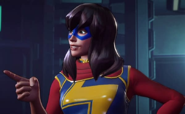 Ms. Marvel Gameplay Surfaces For Marvel Ultimate Alliance 3