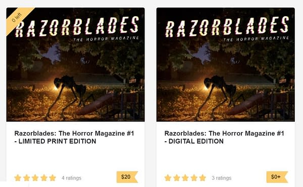 Will James Tynion IV's Razorblades Go Over $100 When It Hits eBay?