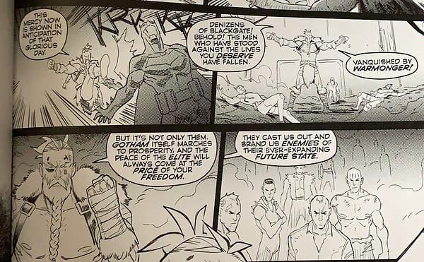 Future State: Gotham #3 by Joshua Williamson, Dennis Culver and Giannis Milonogiannis